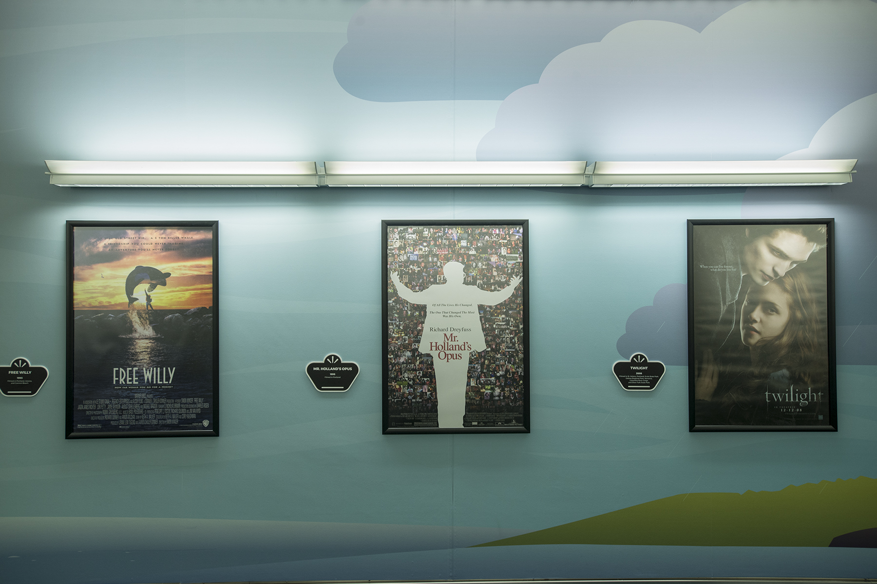 Expansive Oregon Film History Mural + Movie Poster Exhibit