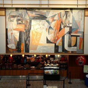 Louis Bunce Mural, 1958 Oregon Market