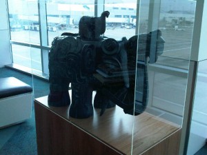 """Da Tung and Xi'an Bao Bao"" (Universal Peace and Baby Elephant), 2012 Concourse Connector"