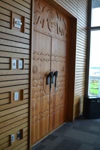 Chinook Room doors and handles, 2005